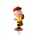 Hallmark 2013/2014 The Peanuts Gang Charlie's Favorite Pastime Ornament 11th in a monthly series QX9852 DAMAGED BOX