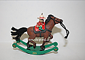 Hallmark 2015 Limited Quantities A Pony For Christmas Ornament QXE3789 Repaint