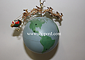 Hallmark 2003 Merry Christmas World Ornament QLX7449
