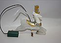 Hallmark 2010 Glimmering Reindeer Ornament Requires Magic Cord sold separately QXG3616