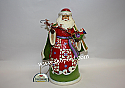 Jim Shore Christmas Miracles Are In Your Grasp Santa Holding Sleigh Figurine 4034358