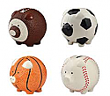 Enesco Sports Ball Piggy Banks