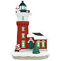 Hallmark 2017 Keepsake Holiday Lighthouse Ornament QX9305