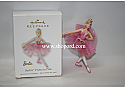 Hallmark 2010 Barbie Prima in Pink Ornament QXI2206
