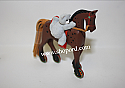 Hallmark 2001 A Pony For Christmas Ornament 4th In The Series QX6995