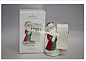 Hallmark 2009 Santas List Write On Ornament QLZ3915