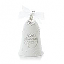 Hallmark 2013 Anniversary Celebration Ornament Charms are included for 10th, 25th, 40th, and 50th anniversaries QXG1895