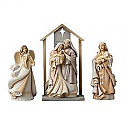 Enesco Foundations 4 Piece Nativity 4048952