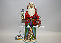Jim Shore A Toast To Good Tidings Christmas Spirits Santa Figurine 4034360
