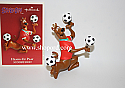 Hallmark 2004 Heads Up Play Ornament Scooby Doo QXI4061