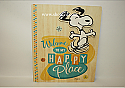 Hallmark Peanuts Happy Place Plaque Paperboard PAJ1155