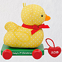 Hallmark 2018 Keepsake Baby's First Christmas Ornament - Duck QGO1703