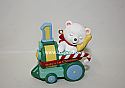 Hallmark 1999 Babys First Christmas Childs Age One Train Ornament QX6667