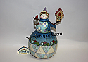 Jim Shore Theres No Place Like Home Snowman with Birdhouse Classic Figurine 4017666