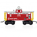 Hallmark 2015 Lionel Chessie WM Caboose Train Ornament QXI2539 Damaged Box
