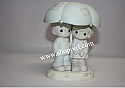 Precious Moments - He Is Our Shelter From The Storm (Boys & Girls Club Of America Commemorative Figurine) #523550