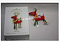Hallmark 2009 Tool Yule Ornament QXG6595 Damaged Box