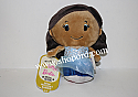 Hallmark itty bitty 2016 Holiday African American Barbie Plush KDD1094
