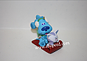 Hallmark 2001 Blues Clue Blue and Periwinkle Ornament QXI6142