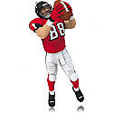 Hallmark 2014 Tony Gonzalez Atlanta Falcons NFL Football Ornament QXI2823