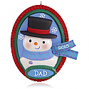 Hallmark 2015 Gotta Love Dad Snowman Ornament QGO1219