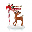 Hallmark 2013 North Pole Pals Ornament Rudolph the Red-nosed Reindeer QXI2322
