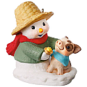 Hallmark 2017 Keepsake Snow Buddies Ornament QX9332