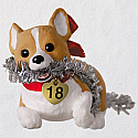 Hallmark 2018 Keepsake Welsh Corgi Ornament QX9346