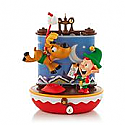 Hallmark 2013 Santa's Reindeer Flight School Ornament (Magic) QXG1775