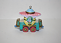 Hallmark 1998 Passenger Car Spring Ornament 3rd In The Cottontail Express Series QEO8376 Damaged Box