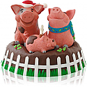 Hallmark 2014 Yule Hogs Ornament QGO1233