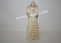Enesco Foundation Angel Hail Mary Mini Figurine 4051329