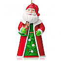 Hallmark 2014 Santa The Toy Bringer Miniature Ornament QXM8526