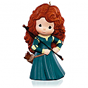 Hallmark 2015 Princess Merida Precious Moments Porcelain Ornament Disney Pixar Brave QXD6009