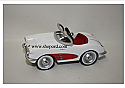 Hallmark 2015 Kiddie Car Classics Chevrolet 1958 Corvette Ornament QEP2157