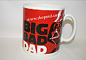 Hallmark Star Wars Darth Vader Jumbo Coffee Mug Big Bad Dad SHP4031