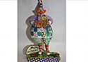 Jim Shore Squeezebox Clown with Accordian Figurine 4007673