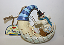 Jim Shore Crescent Moon Snowman Hanging Ornament 4047807