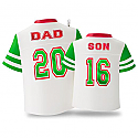 Hallmark 2016 Dad And Son Jersey Shirt Ornament QGO1104