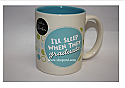 Hallmark Shoebox I'll Sleep When They graduate Coffee Mug GGF2115