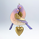 Hallmark 2012 Two Turtle Doves Ornament 2nd in the Twelve Days of Christmas series QX8091