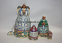 Jim Shore Nativity Nesting Box Set of 4 Hallmark Exclusive Figurine 4024367