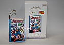 Hallmark 2011 Captain America and The Avengers Ornament Comic Book Heroes 4th and Final QX8819