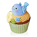 Hallmark 2016 Nest Sweet Nest Bird Ornament 10th In The Keepsake Cupcake Series QHA1045