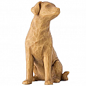 Willow Tree I Love my Dog Figurine (light) 27682
