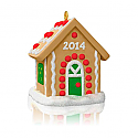 Hallmark 2014 Jolly Gingerbread House Merry Makers Ornament QRP5936