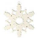 Hallmark 2016 Good Friends Happy Hearts Snowflake Ornament QGO1144