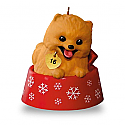 Hallmark 2016 Puppy Love Ornament 26th In the Series QX9051