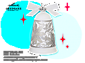 Hallmark 2013 Glad Tidings Bell Keepsake Ornament Club KOC QXC5074 Damaged Box