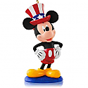 Hallmark 2014/2015 Yankee Doodle Mickey Disney Ornament 12th in the monthly series QHA1033